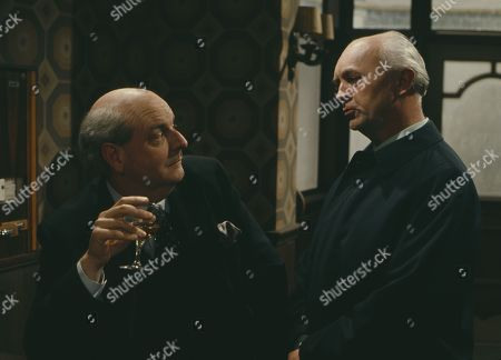 Derek Francis, as Charles Breedon, and George A. Cooper, as Supt. George Grover