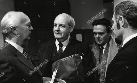 Derek Francis, as Charles Breedon, and George A. Cooper, as Supt. George Grover, with John Dearth, as Ernie Harris