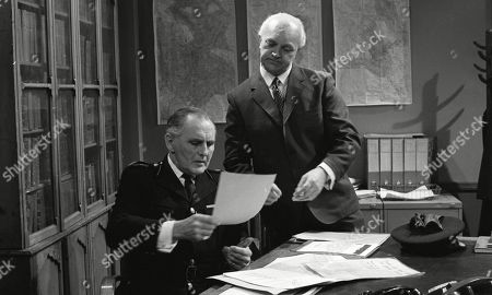 John Harvey, as Richard Arnold and George A. Cooper, as Supt. George Grover