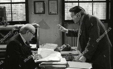Derek Francis, as Charles Breedon, and John Dearth, as Ernie Harris