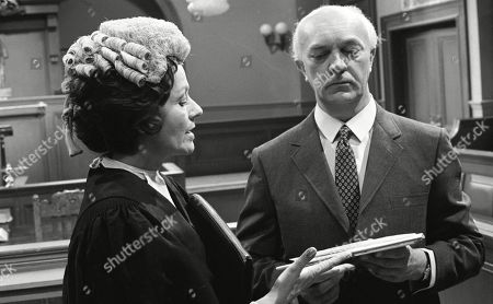 Margaret Lockwood, as Harriet Peterson and George A. Cooper, as Supt. George Grover