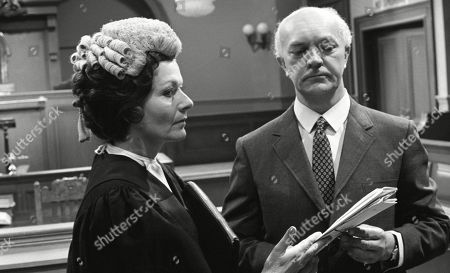 Stock Picture of Margaret Lockwood, as Harriet Peterson and George A. Cooper, as Supt. George Grover