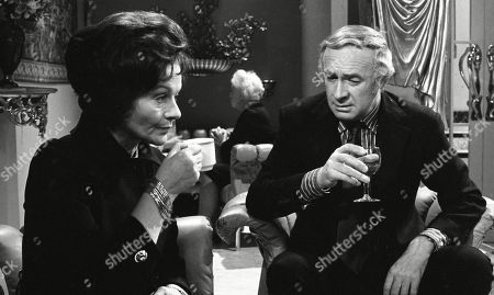 Margaret Lockwood, as Harriet Peterson and William Franklyn, as James Kirby