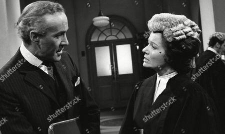 Margaret Lockwood, as Harriet Peterson and Philip Latham, as Jardine