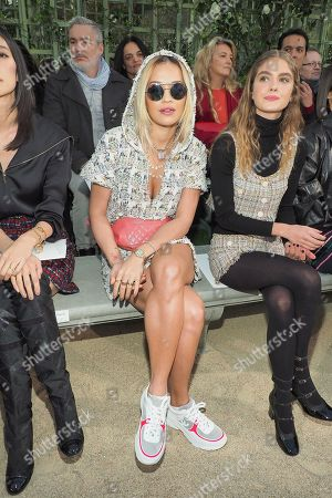 Rita Ora and Dolores Doll in the front row