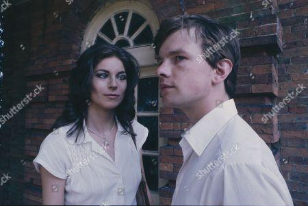 Barbara Kellerman, as Thalia Darlson and Simon Chandler, as Peter Clough