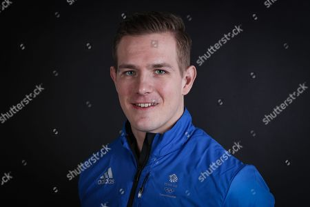 Stock Photo of Bradley Hall Team GB Bobsleigh