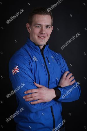 Stock Image of Bradley Hall Team GB Bobsleigh
