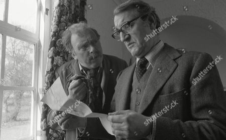 Stock Picture of Freddie Jones, as Old Billy and Douglas Wilmer, as Mr Broome