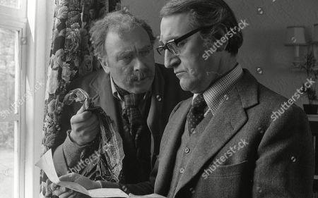 Freddie Jones, as Old Billy and Douglas Wilmer, as Mr Broome