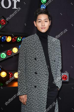 Stock Photo of Song Joong-ki
