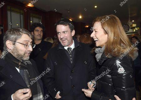 Haim Korsia, Manuel Valls, Manuel Valls, Anne Gravoin