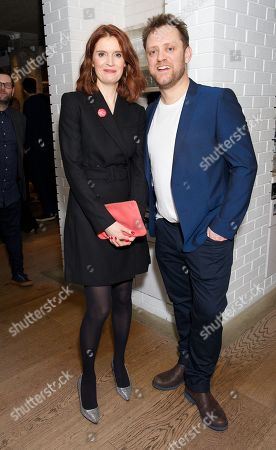 Editorial photo of 'Beginning' Opening Night, Ambassadors Theatre, London, UK - 23 Jan 2018