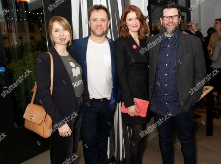 Polly Findlay, Sam Troughton, Justine Mitchell & David Eldridge (writer)