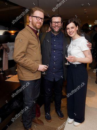 Tom Goodman-Hill, David Eldridge (writer) & Jessica Raine