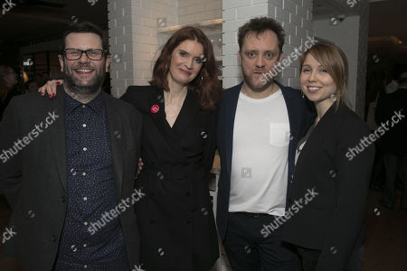 Stock Picture of David Eldridge (Author), Justine Mitchell (Laura), Sam Troughton (Danny) and Polly Findlay (Director)