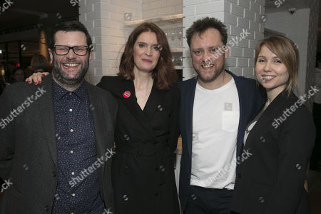 David Eldridge (Author), Justine Mitchell (Laura), Sam Troughton (Danny) and Polly Findlay (Director)