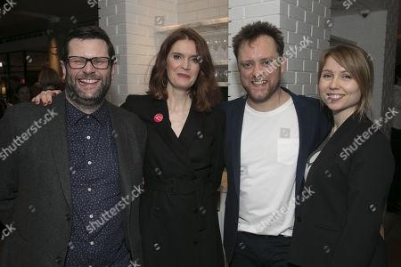 Stock Image of David Eldridge (Author), Justine Mitchell (Laura), Sam Troughton (Danny) and Polly Findlay (Director)