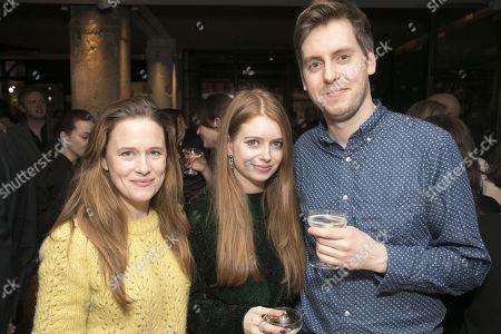 Katie Brayben, Fly Davis (Designer) and Michael Bruce