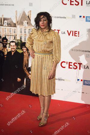 Editorial photo of 'C'est La Vie' film premiere, Arrivals, Madrid, Spain - 23 Jan 2018
