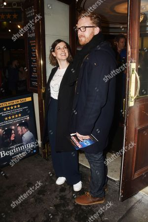 Editorial photo of 'Beginning' Opening Night, Ambassadors Theatre, London, UK - 23 Jan 2018