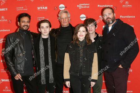 Irrfan Khan, Austin Abrams, Marc Turtletaub, Kelly Macdonald, Bubba Weiler, David Denman