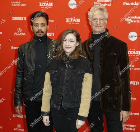 Irrfan Khan, Kelly Macdonald and Marc Turtletaub