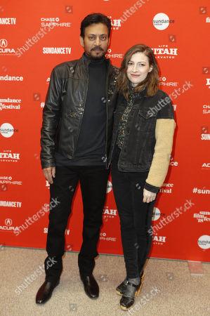 Irrfan Khan and Kelly Macdonald