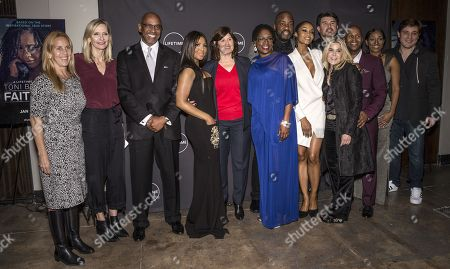 Editorial image of 'Faith Under Fire: The Antoinette Tuff Story' TV show premiere, New York, USA - 23 Jan 2018