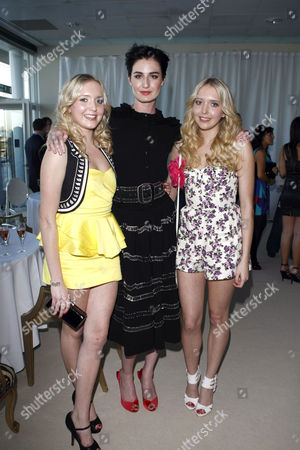 Samantha Marchant, Erin O'Connor and Amanda Marchant