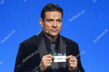 Editorial photo of UEFA Nations League draw in Lausanne, Switzerland - 24 Jan 2018