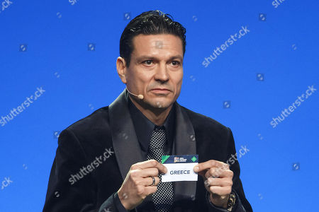 Editorial picture of UEFA Nations League draw in Lausanne, Switzerland - 24 Jan 2018