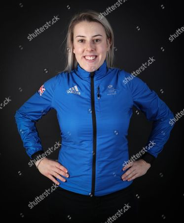 Katie Summerhayes Team GB Skiing at the kitting out session at Adidas Stockport