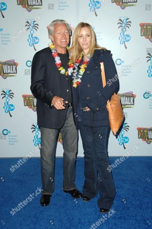 Stock Photo of Michel Stern and Lisa Kudrow