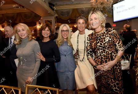 "Sharon Loeb, Rikki Klieman, Susan Birnbaum, Somers Farkas, Susan Magrino. Sharon Loeb, Rikki Klieman, Susan Birnbaum, Somers Farkas and Susan Magrino, left to right, attend the New York City Police Foundation's ""State of the NYPD"" breakfast, in New York. The New York City Police Foundation provides resources and support for NYPD public safety and counter-terrorism programs"