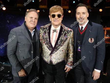 Editorial image of Elton John Announces 'Farewell Yellow Brick Road' Tour, New York, USA - 24 Jan 2018