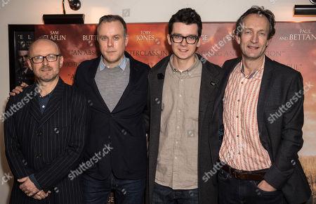 Simon Reade, Saul Dibb, Asa Butterfield and Guy De Beaujeu
