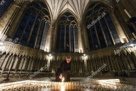 Editorial image of York Minster Holocaust Memorial Commemoration, UK - 24 Jan 2018