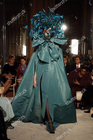 Editorial photo of Valentino - Runway - Paris Fashion Week S/S 2018, France - 24 Jan 2018