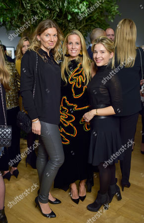 Stock Picture of Paola Alessio, Carolina Gonzalez-Bunster and Novi Clabele