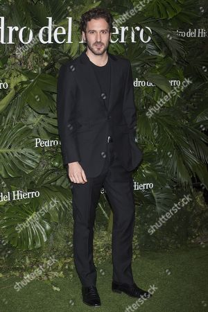 Editorial image of Pedro del Hierro show, Arrivals, Mercedes Benz Fashion Week Madrid, Spain - 24 Jan 2018