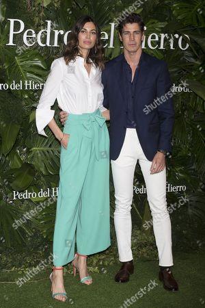 Davinia Pelegri and Oriol Elcacho
