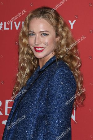 Editorial photo of Revlon's 'Live Boldly' campaign launch, New York, USA - 24 Jan 2018