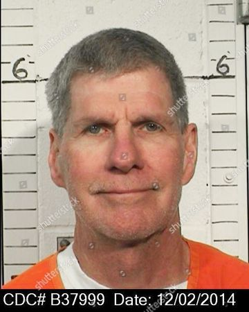 """This Dec. 2, 2014 photo provided by the California Department of Corrections and Rehabilitation shows Charles """"Tex"""" Watson. California officials are considering whether the self-described right-hand man of murderous cult leader Charles Manson should be released from prison. The parole hearing on came 47 years after Manson orchestrated the killings of pregnant actress Sharon Tate and six other people in California"""