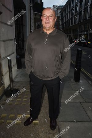 Editorial photo of Chris Ellison out and about, London, UK - 24 Jan 2018