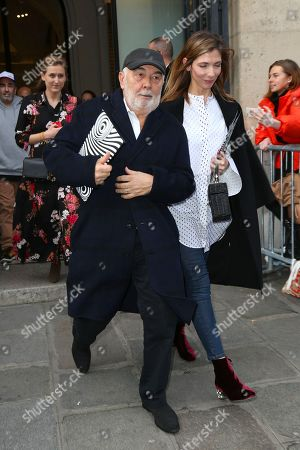Gerard Jugnot and Patricia Campi