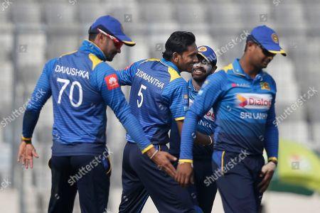 Editorial image of Tri-Nation Cricket, Dhaka, Bangladesh - 25 Jan 2018