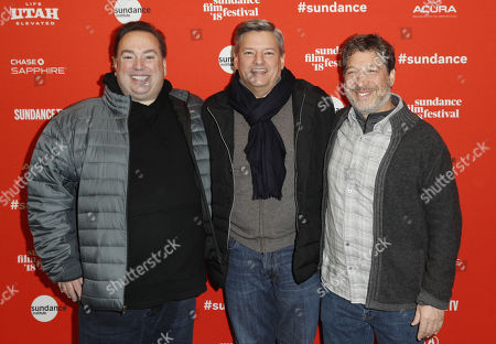 Peter Principato, Ted Sarandos and Jonathan Stern