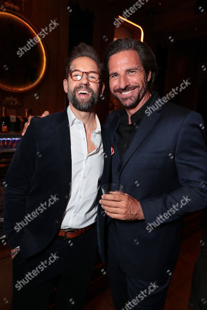 Stock Image of Todd Grinnell and Ed Quinn