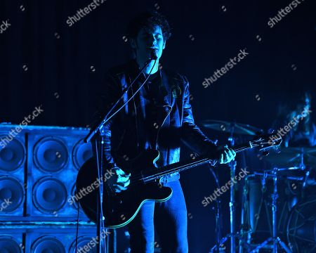 Editorial picture of Black Rebel Motorcycle Club in concert at Revolution, Fort Lauderdale, USA - 24 Jan 2018